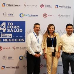 Presentes en el Cuarto Foro de Salud en Bucaramanga